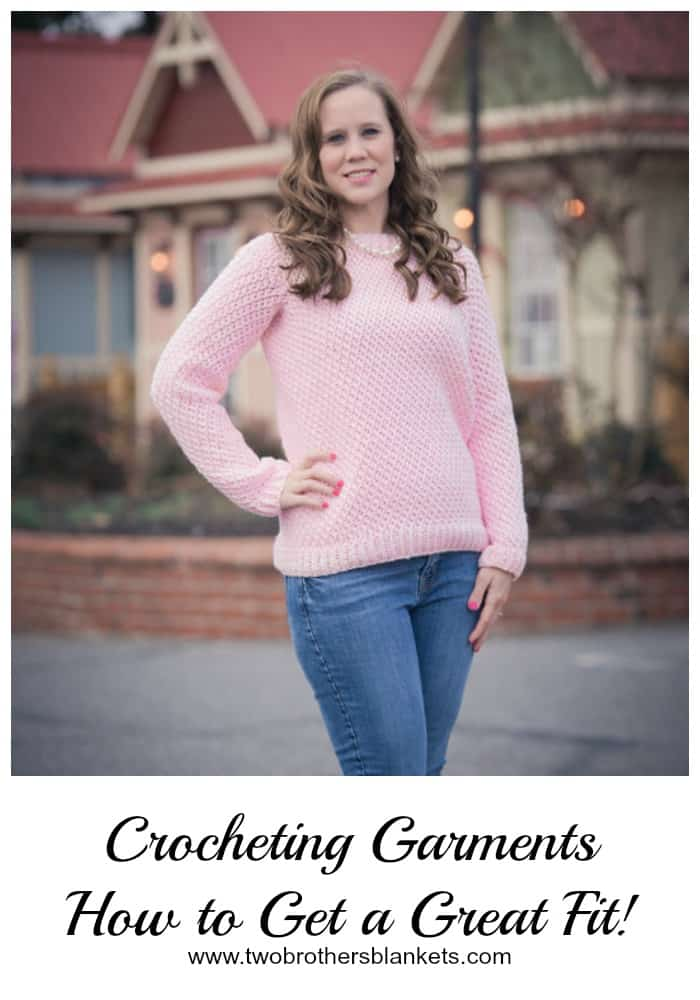 crocheting garments