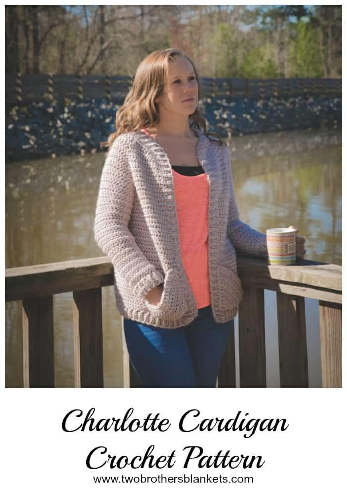 Charlotte Cardigan crochet pattern