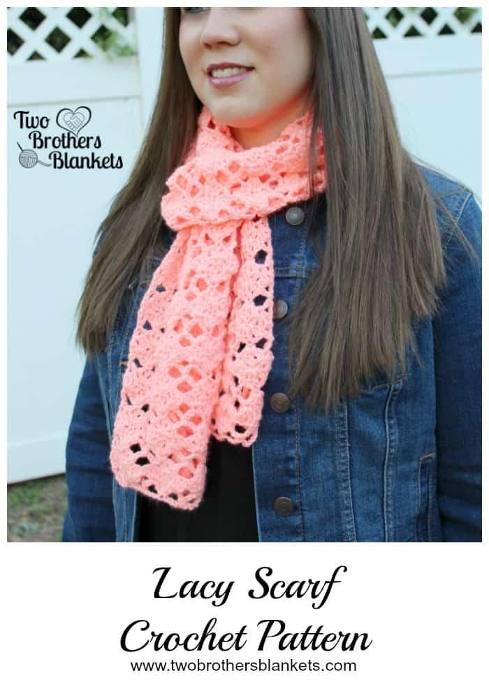 Lacy Scarf Crochet Pattern