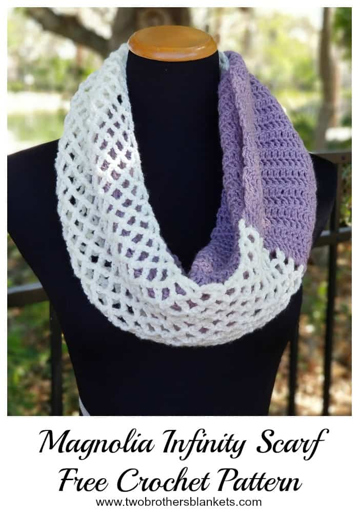 Magnolia Scarf Free Crochet Pattern
