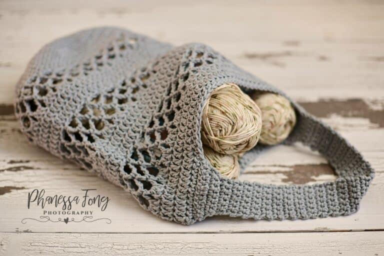 Crochet Market Bag Pattern- Magnolia Market Bag