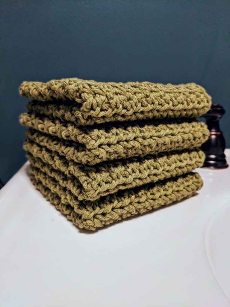 Crochet Washcloth Free Pattern – Dude Washcloth
