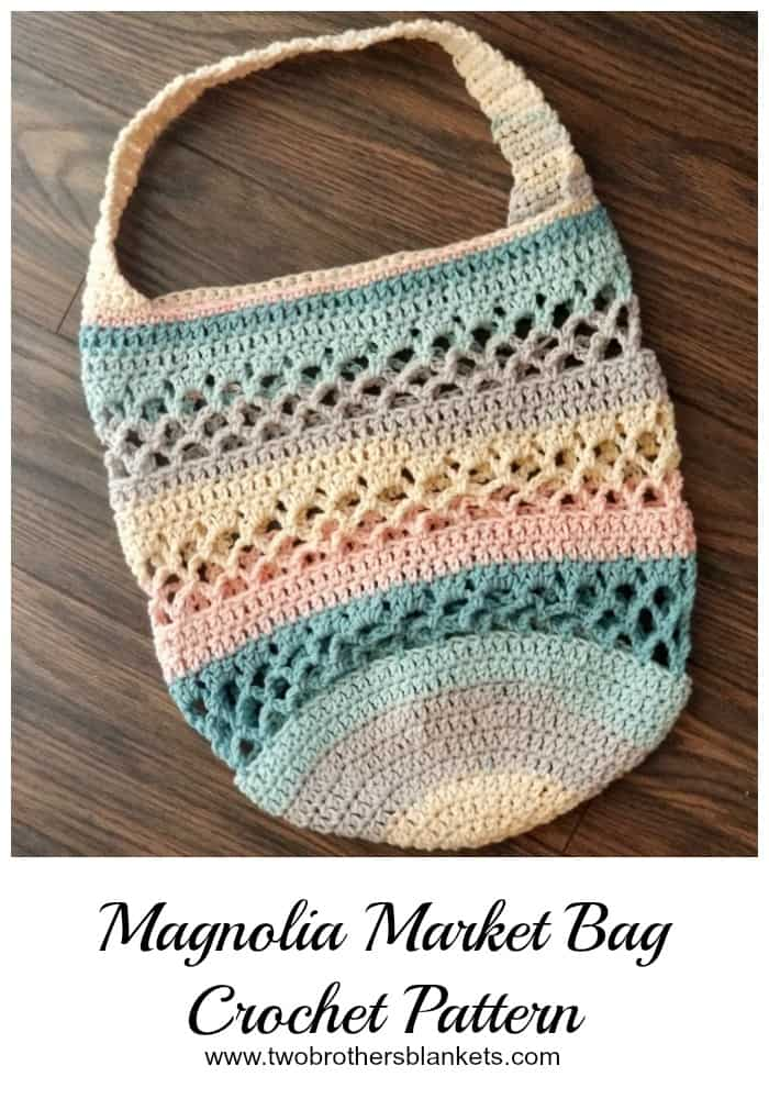 Magnolia Market Bag Crochet Pattern Two Brothers Blankets