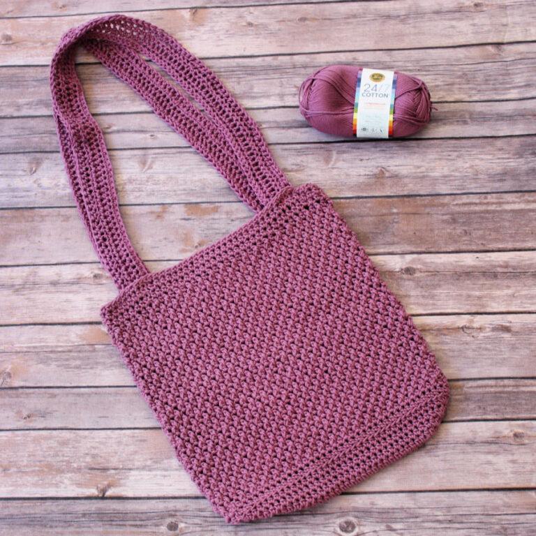 Crochet Handbag Pattern- Savannah Handbag