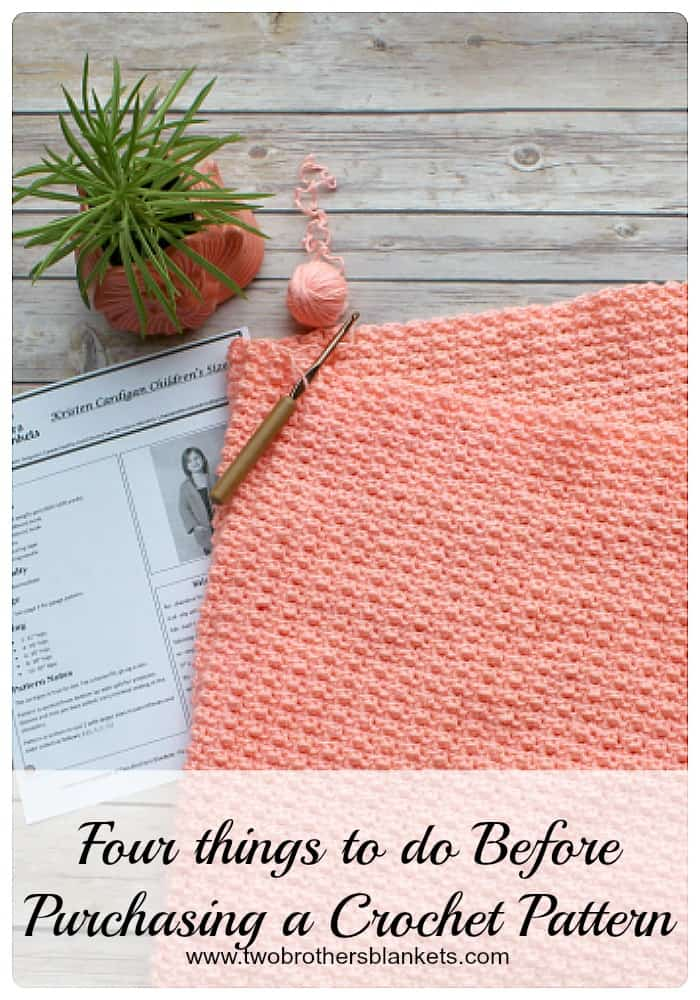 Buying A Crochet Pattern Four Things To Do Before You Buy