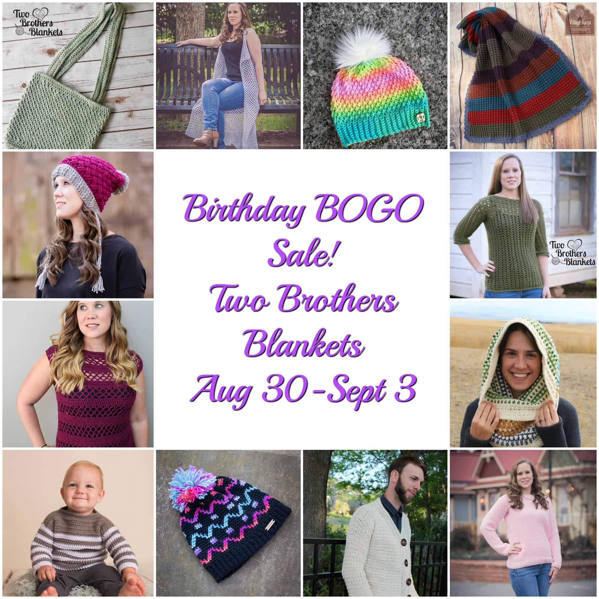 Birthday BOGO sale