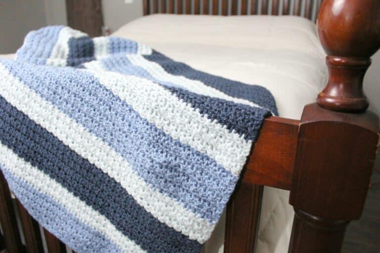 Free Crochet Blanket Pattern- Dude Blanket