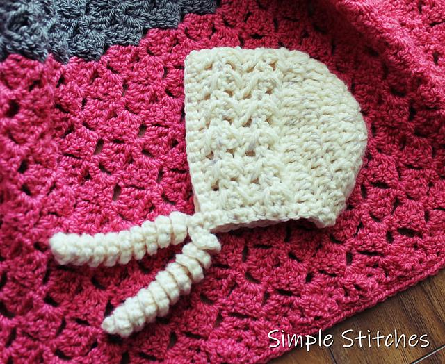 Crochet Baby Bonnet Free Pattern