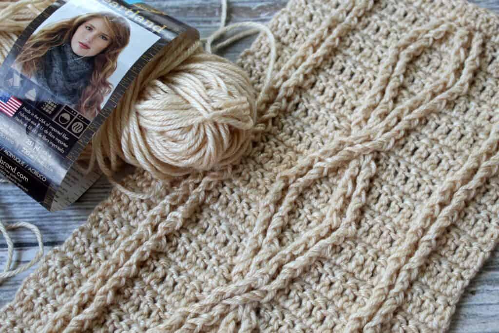 Crossroads Scarf Crochet Pattern