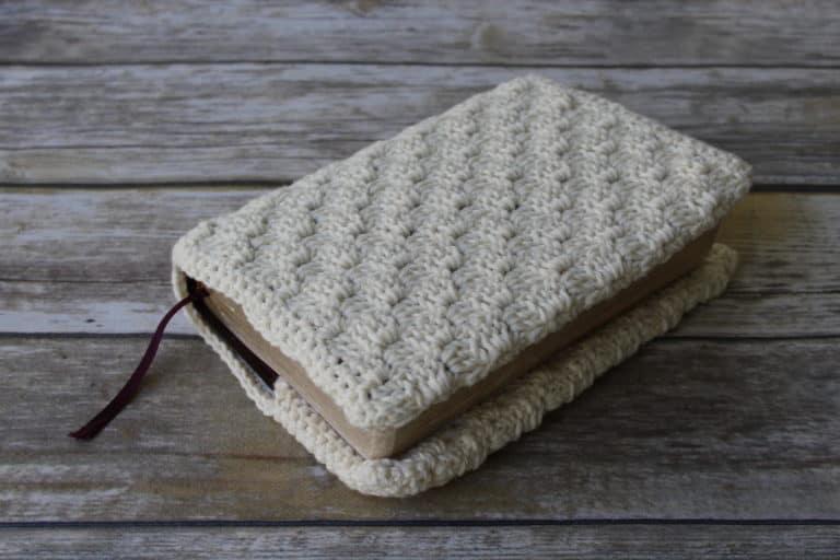 Sweet Blessings Bible Cover Crochet Pattern