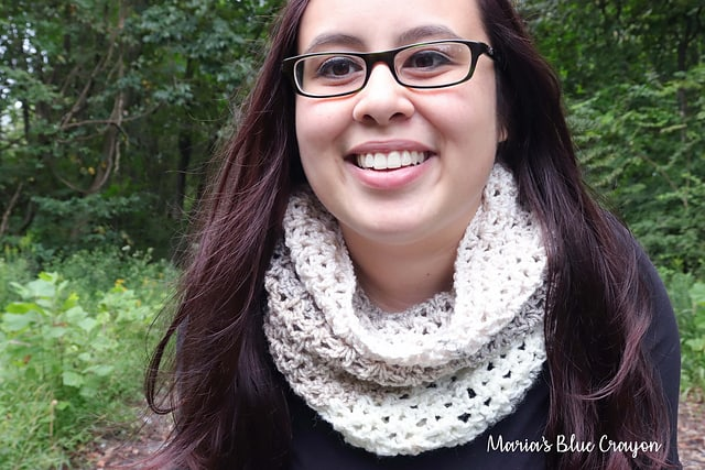 fall crochet cowl