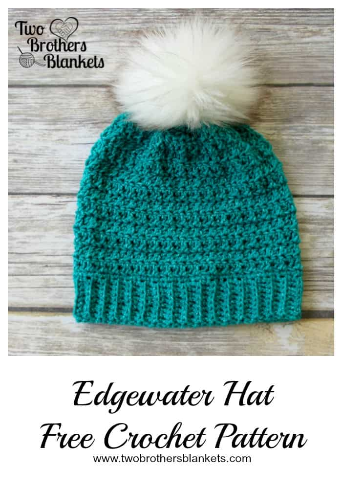 a89f12646bf Edgewater Hat- Free Crochet Pattern - Two Brothers Blankets