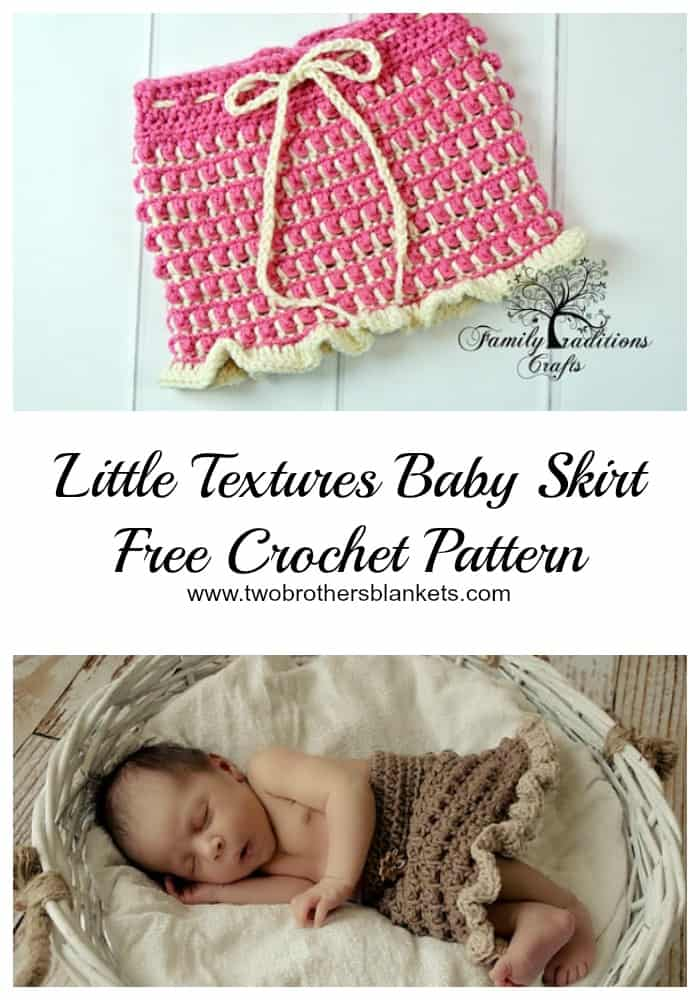 little textures baby skirt