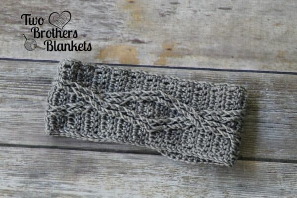 Crossroads Headband Free Crochet Pattern