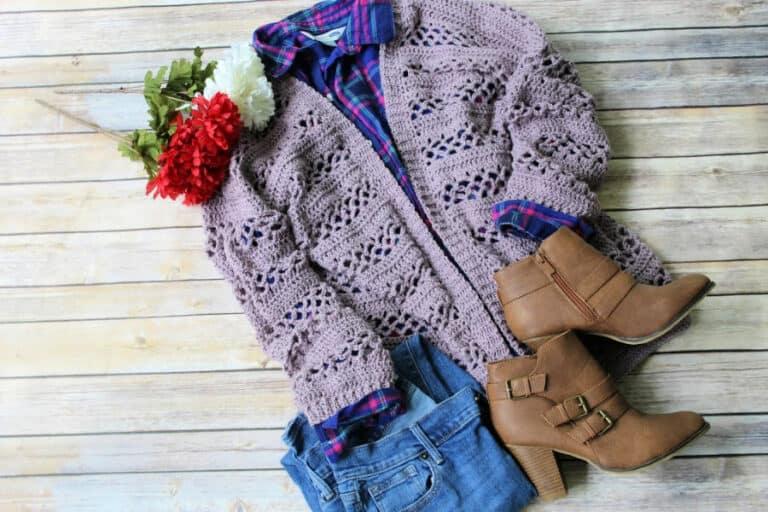 Magnolia Cardigan Crochet Pattern