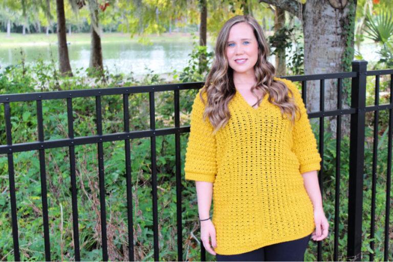 Crochet Tunic Pattern- Tuscan Sun Tunic