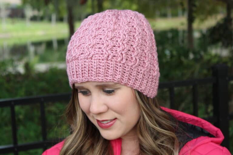 Crochet Beanie Pattern – Jenny Beanie