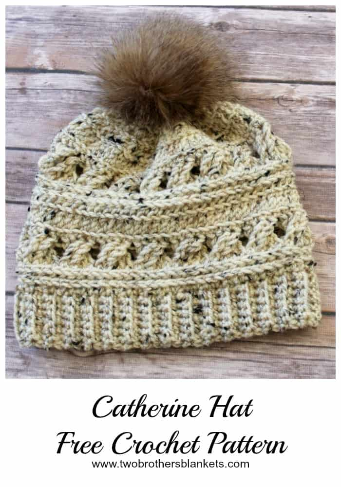 Catherine Hat Free Crochet Pattern - Two Brothers Blankets a0347a526