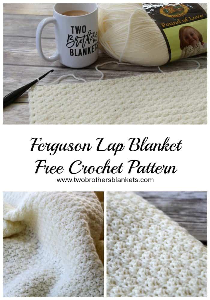 Ferguson Lap Blanket- Free Crochet Pattern - Two Brothers Blankets ab05c9ab3