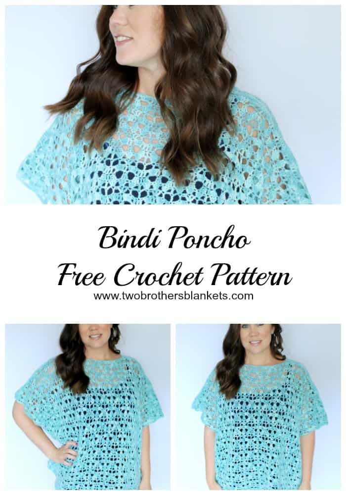 Bindi Poncho crochet pattern