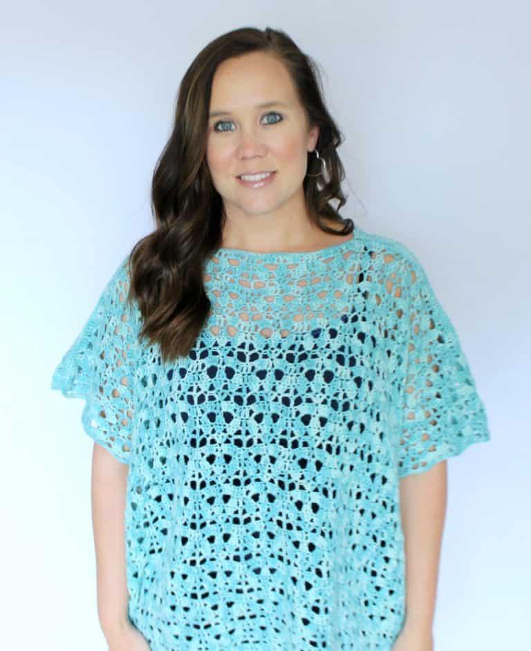 Free Crochet Poncho Pattern – Bindi Poncho