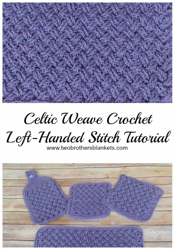 Celtic Weave Crochet Stitch Tutorial