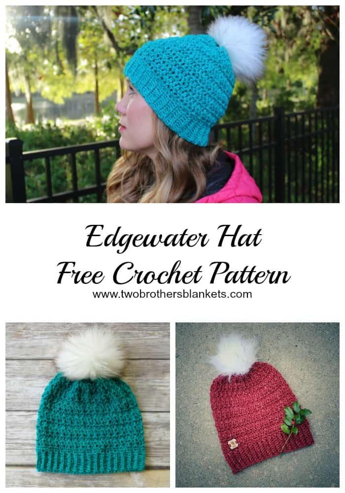 Edgewater Hat Free Crochet Pattern