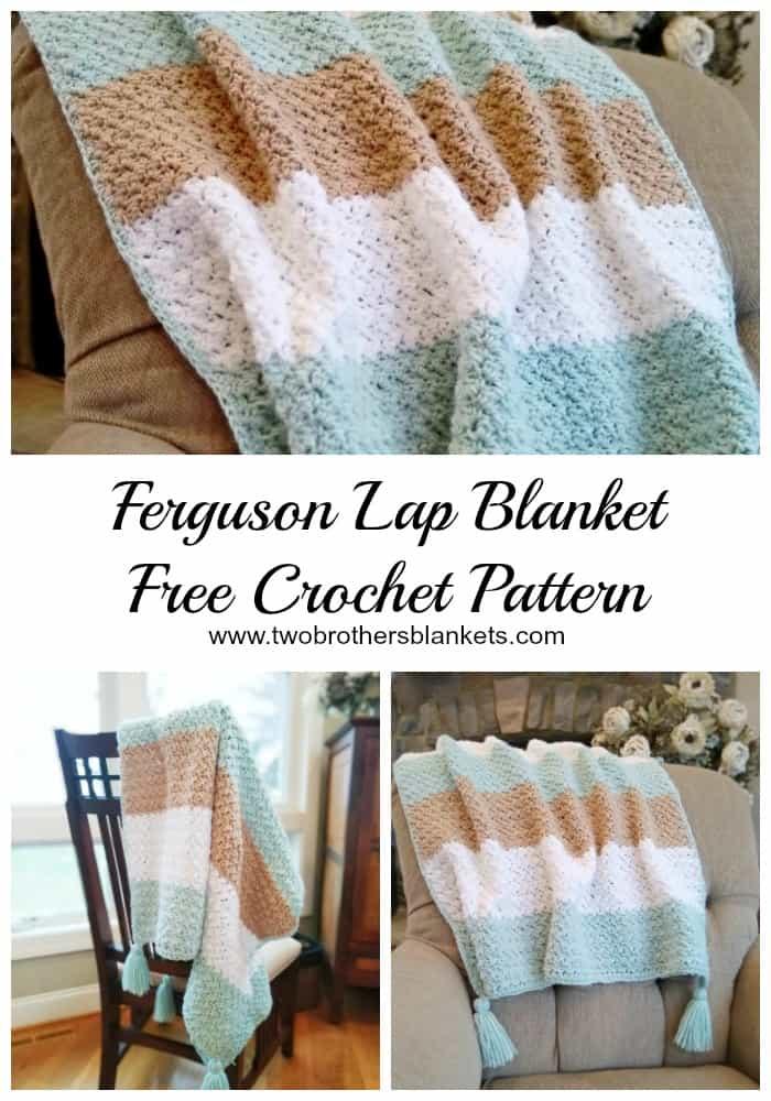 Ferguson Lap Blanket Free Crochet Pattern