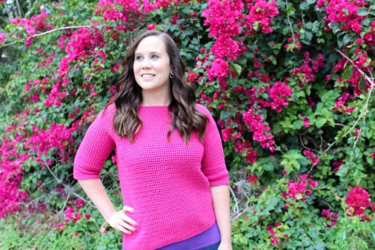Crochet Sweater Pattern – Springtime Sweater