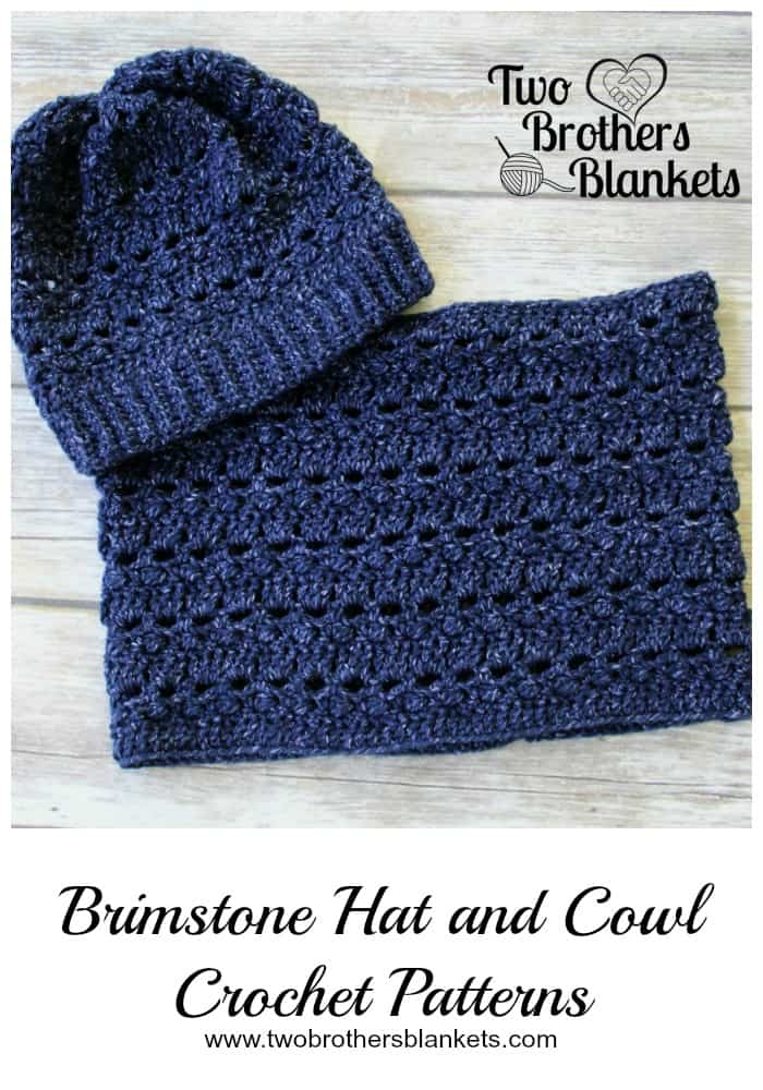Brimstone Hat and Cowl Crochet Patterns - Two Brothers Blankets