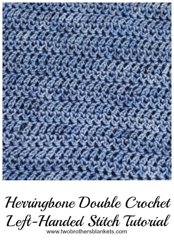 Herringbone Crochet Stitch Tutorial