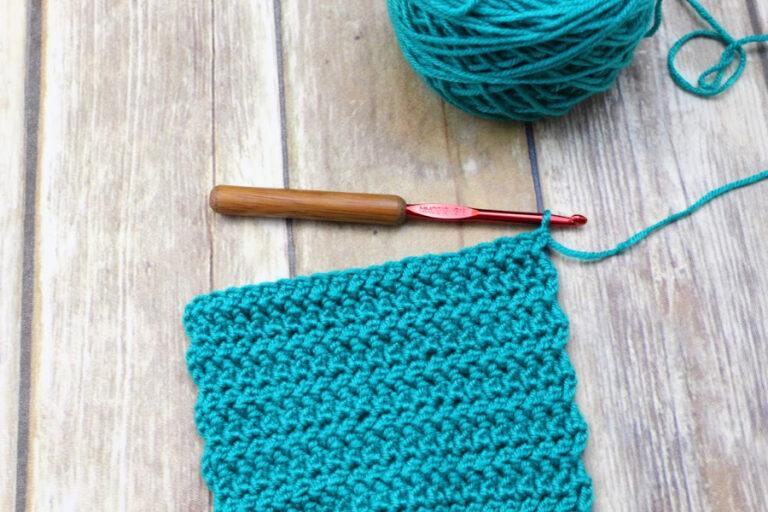 Crochet Stitch Tutorial: Herringbone Double Crochet