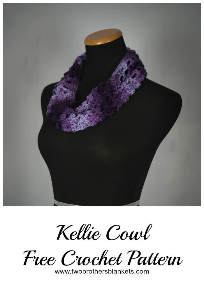 Kellie Cowl Free Crochet Pattern