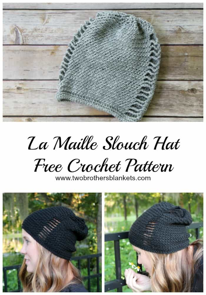 La Maille Slouch Free Crochet Pattern