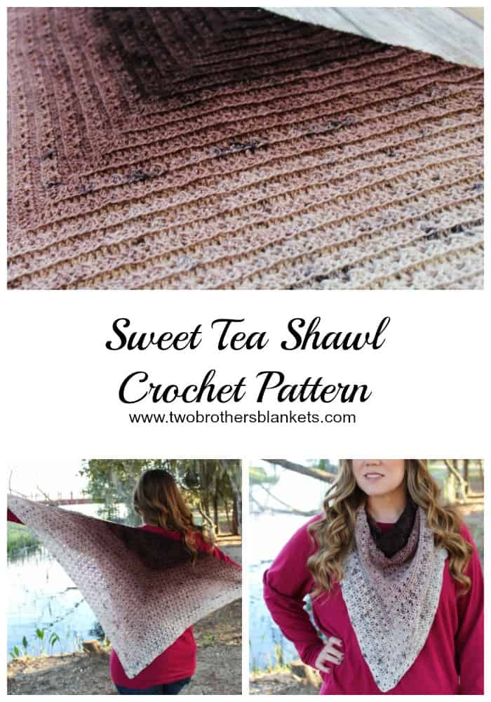 Sweet Tea Shawl Crochet Pattern