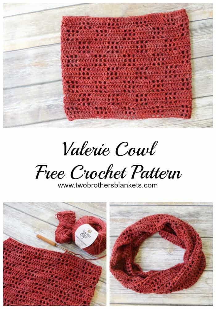 Valerie Cowl Free Crochet Pattern