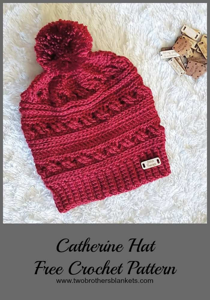 Catherine Hat Free Crochet Pattern
