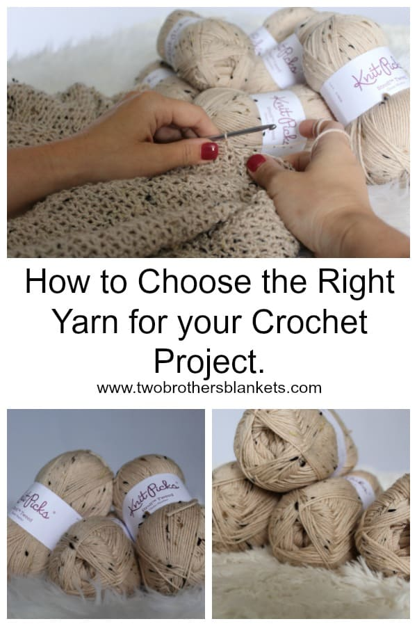How to Choose the Right Yarn for your Crochet Project.