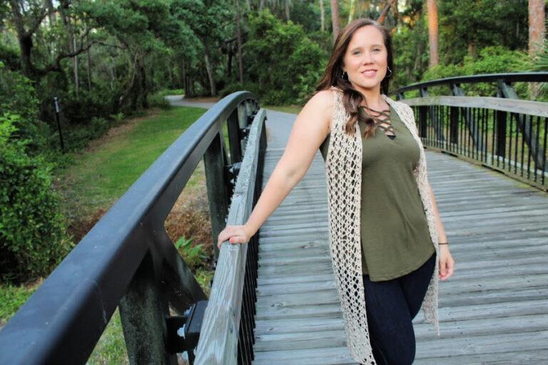 Crochet Vest Pattern – Summer Stroll Vest