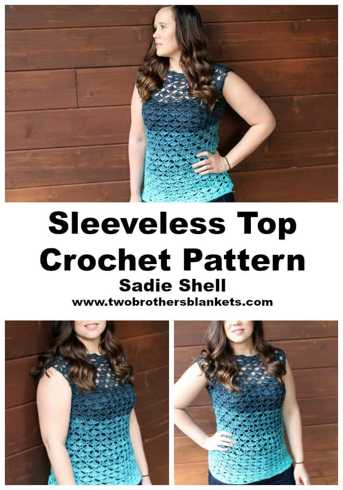 Sadie Shell Crochet Pattern
