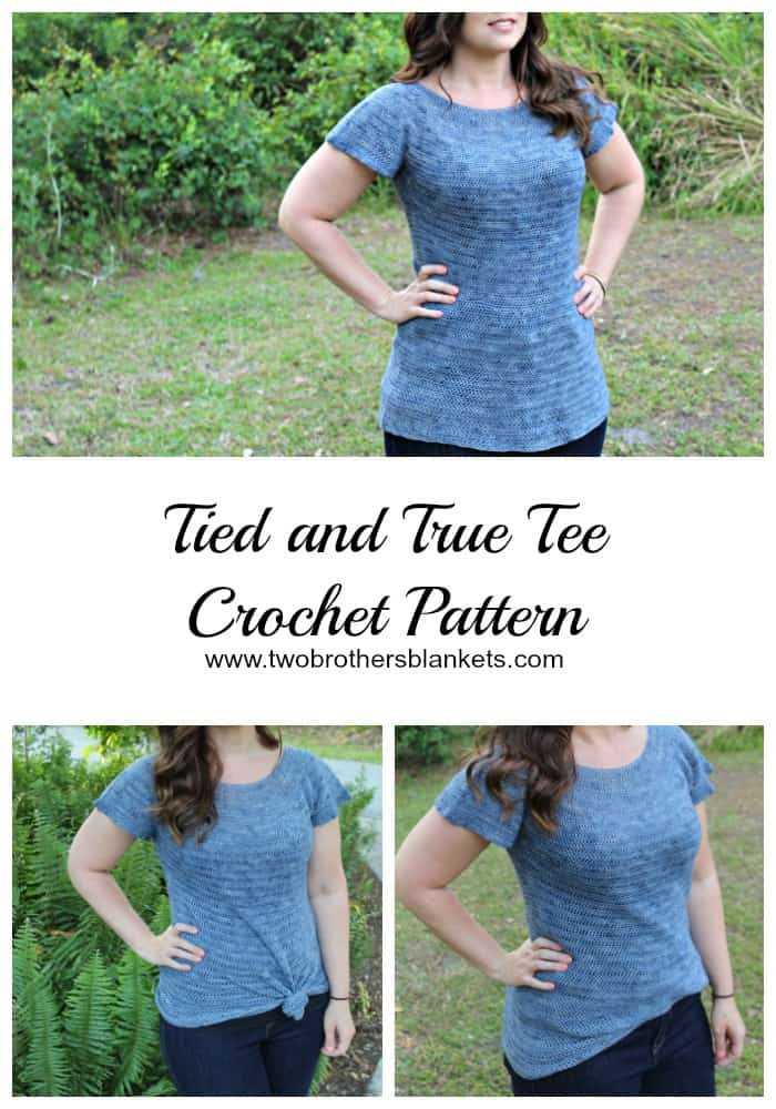 Tied and True Tee Crochet Pattern