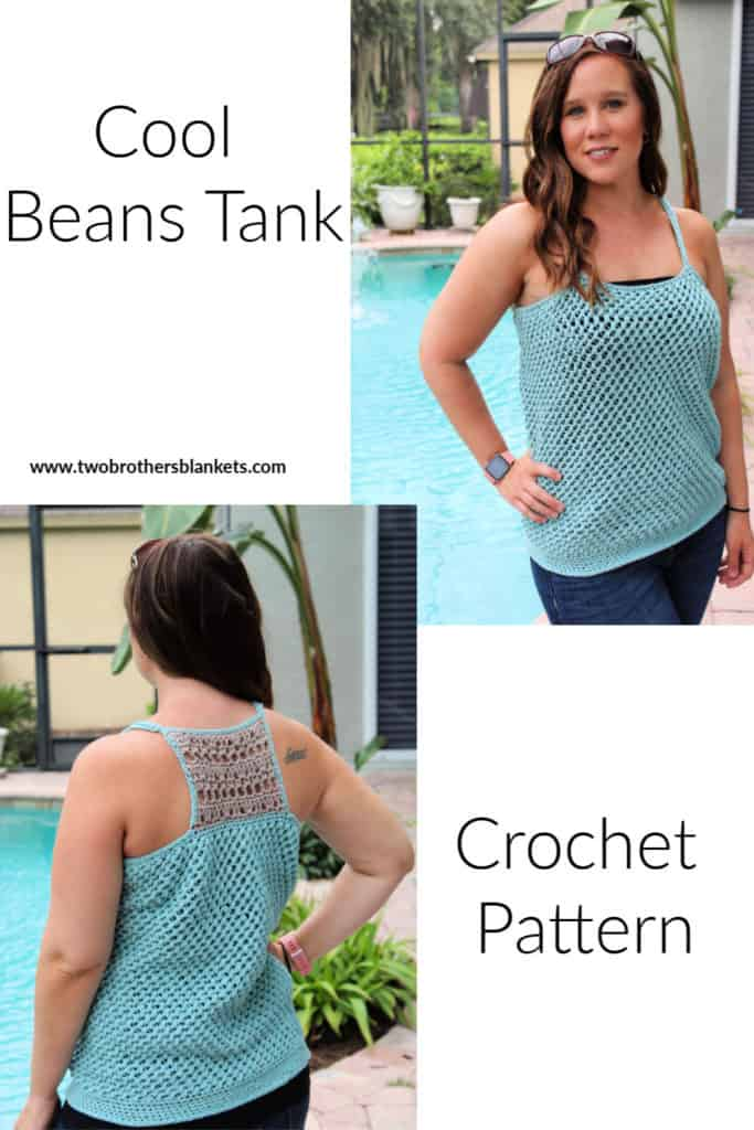 Cool Beans Tank Crochet Pattern
