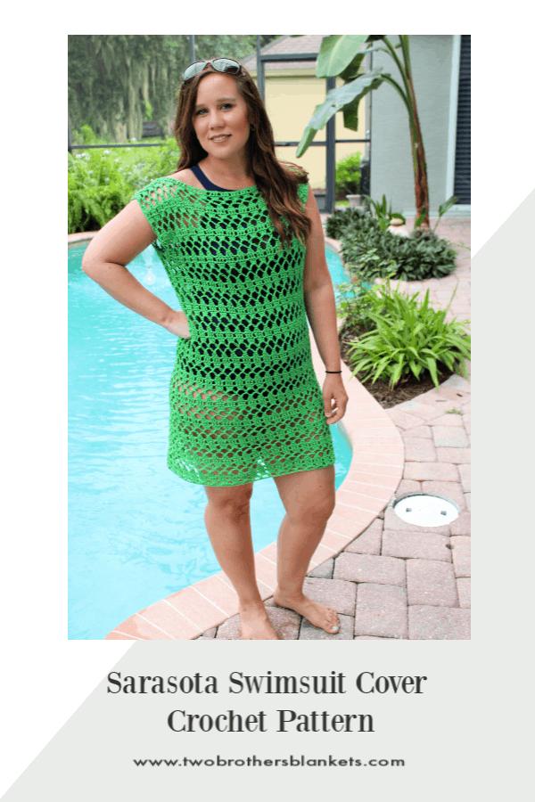 Sarasota Swimsuit Cover Crochet Pattern