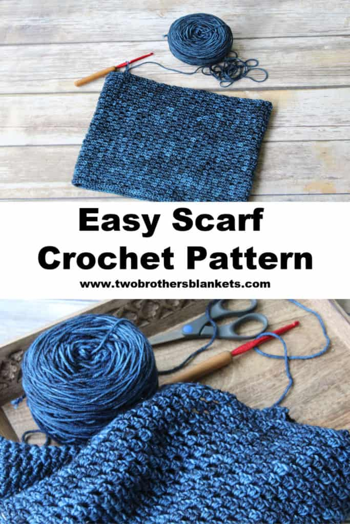 Georgia Scarf Crochet Pattern