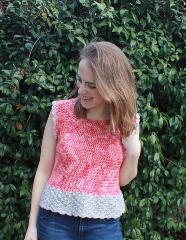 Free Crochet Top Pattern: She Sells Sea Shells Top