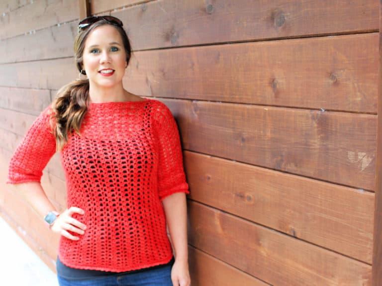 Katie Blouse Crochet Pattern