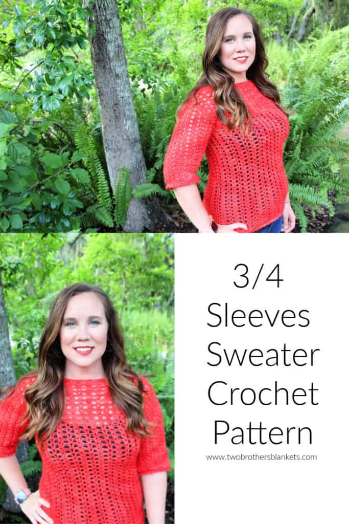 Katie Blouse Crochet Pattern