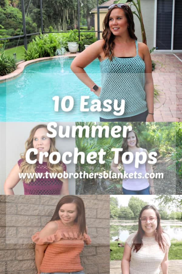 Ten Easy Summer Crochet Tops!