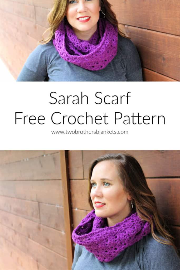 Sarah Scarf Free Crochet Pattern