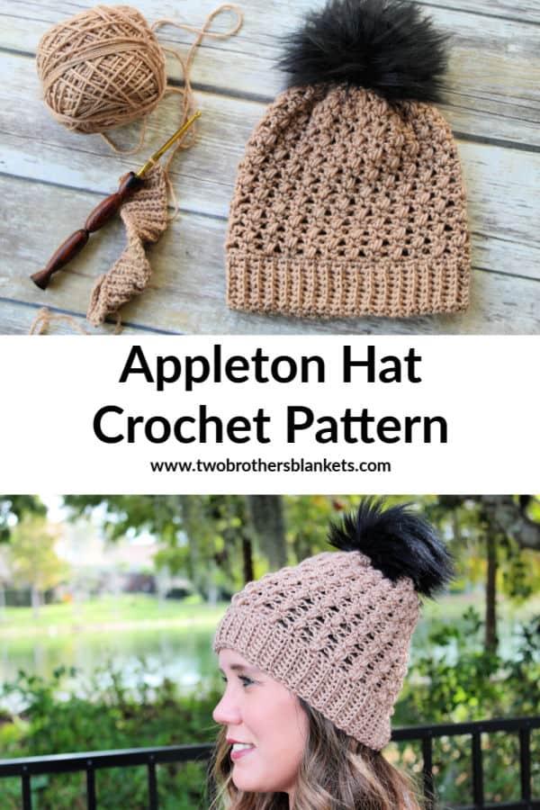 Appleton Hat crochet pattern